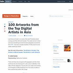 100 Artworks from the Top Digital Artists in Asia