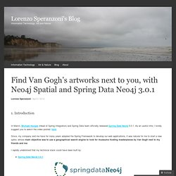 Find Van Gogh's artworks next to you, with Neo4j Spatial and Spring Data Neo4j 3.0.1