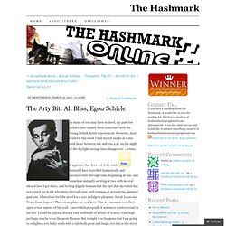 The Arty Bit: Ah Bliss, Egon Schiele « The Hashmark