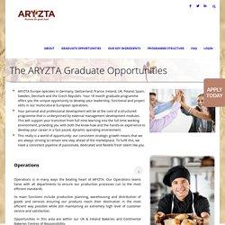 ARYZTA Graduate Programme