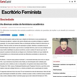 As diversas ondas do feminismo acadêmico