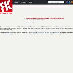 XML Grid Image Gallery
