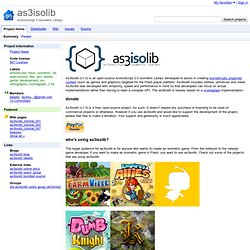 as3isolib - ActionScript 3 Isometric Library