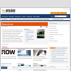 ASAE: Resources