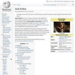 Asaf Avidan - Wikipedia