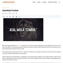 Asal Mula Tumbal