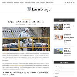 FAQ About Asbestos Removal In Adelaide - All Star Asbestos Services