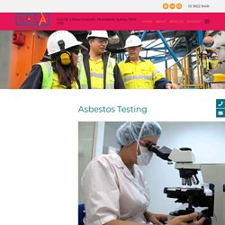 Asbestos Testing: Why It's Needed