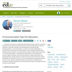 5 Communication Tips For Educators