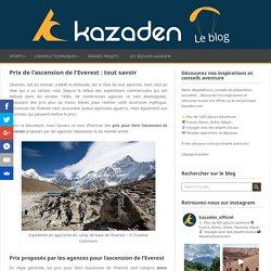 Prix de l'ascension de l'Everest : tout savoir - Kazaden