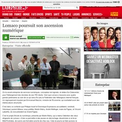 Lomaco poursuit son ascension numérique - 17/07/2015 - ladepeche.fr