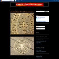 Crop Circles Aug. 12 Montauk Project Anniversary