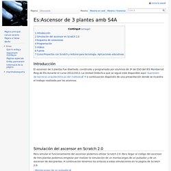 Es:Ascensor de 3 plantes amb S4A - wikimanuals