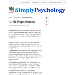 asch psychology experiment an analysis of opinions and social pressure Worse still, an analysis of textbook coverage of asch's work from the 50s to  of  participant responses that defied majority opinion, compared with 14 of  of  asch's social pressure experiments teaching of psychology, 42 (2),.