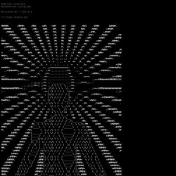 ASCII art by Meph