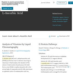 L-Ascorbic Acid - an overview