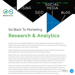 Research & Analytics