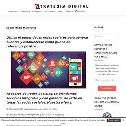 Asesores de redes sociales (Social Media Marketing)