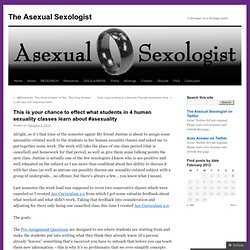 This is your chance to effect what students in 4 human sexuality classes learn about #asexuality