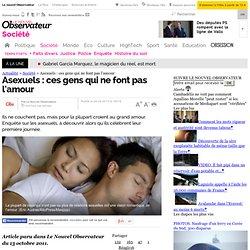 Asexuels : ces gens qui ne font pas l'amour