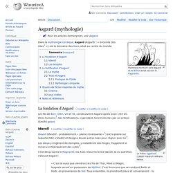Asgard (mythologie)
