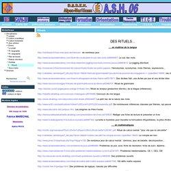 ASH 06 - Rituels