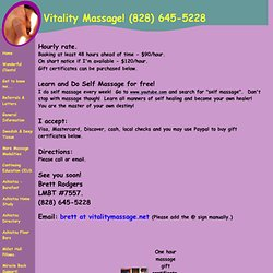 asheville reasonable price massage