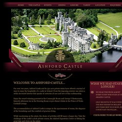 Ashford Castle Luxury Hotel in Ireland Hotels