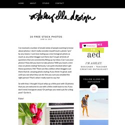 Ashley Ella Design 10 Free Stock Photos