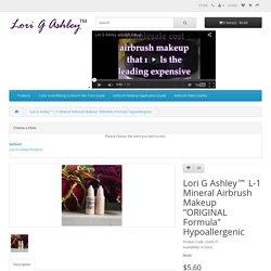 Lori G Ashley™ L-1 Mineral Airbrush Makeup ORIGINAL Formula
