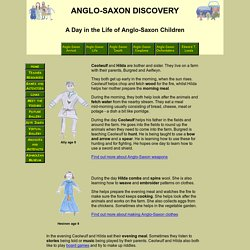 Ashmolean Museum: Anglo-Saxon Discovery - Hilda and Ceolwulf's Day