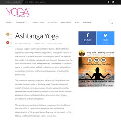 Ashtanga Yoga - Yoga Magazine