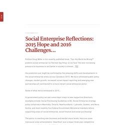 Accelerating Social Impact CCC