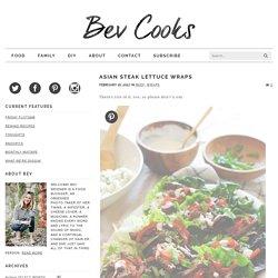 Asian Steak Lettuce Wraps