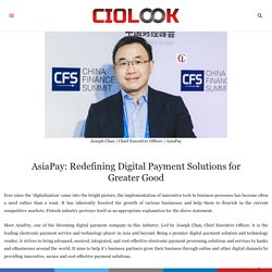 Redefining Digital Payment Solutions for Greater Good