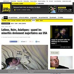 Latinos, Noirs, Asiatiques : quand les minorités deviennent majoritaires aux USA