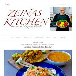 Asiatisk vitkålssallad med nudlar - ZEINAS KITCHEN