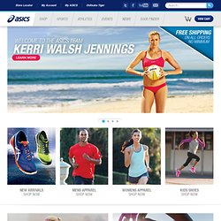 ASICS America - Running Shoes, Apparel, and Accessories