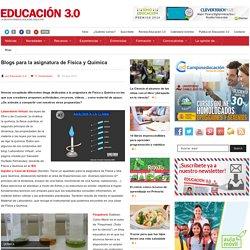 Blogs para la asignatura de Física y Química