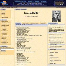 Isaac ASIMOV - Bibliographie - Livres