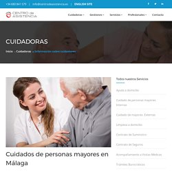 Cuidados de personas mayores en Málaga