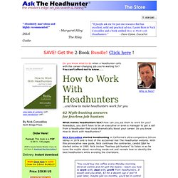 Ask The Headhunter Store