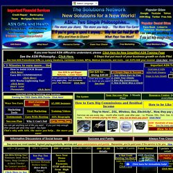 ASN Member Home Page