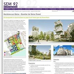 SEM92 - Projets en cours - Asnières-sur-Seine - Éco-Quartier de Seine - Parc d'Affaires