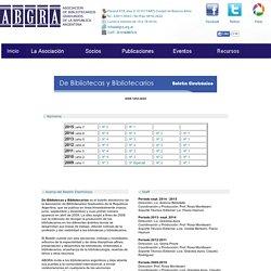 ABGRA - Asociación de Bibliotecarios Graduados de la República Argentina