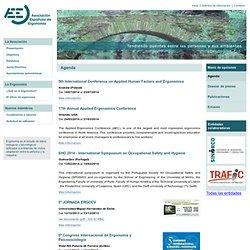 Agenda - Asociación Española de Ergonomía