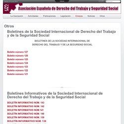 Boletines de la Sociedad Internacional de Derecho del Trabajo y de la Seguridad Social