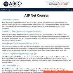 ASP Net - ABCO Technology Institute