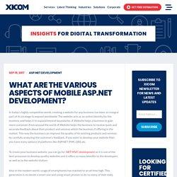 Asp .NET MVC Development Company