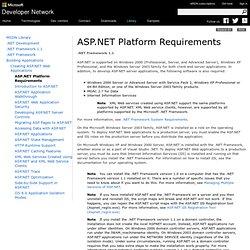 Crear aplicaciones Web ASP.NET